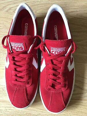 Converse One Star Red Suede Sneakers 7.5