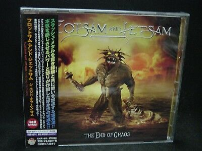 FLOTSAM AND JETSAM The End Of Chaos + 1 JAPAN CD Fifth Angel Impellitteri Accept