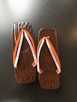 Japanese vintage geta (traditional footwear for kimono)