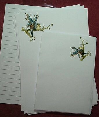 The Tree Fairy Letter Writing Paper & Envelopes Stationery Set 8+4