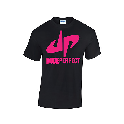 DUDE PERFECT DP Youtuber Group Tee Many Tshirt CHILDRENS Top Colours T-shirt