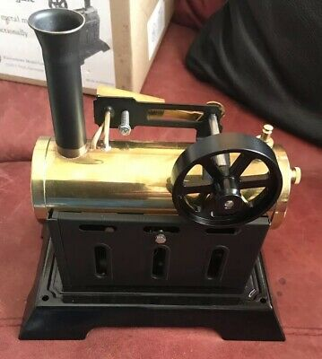 German Stationary Steam Engine Boxed