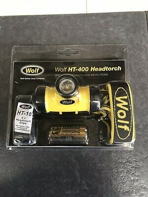 Wolf HT-400 Headtorch ATEX IECEx Work Beach Camping Fishing Headlight