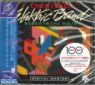Chick Corea Elektric Band-Beneath The Mask-Japan Shm-Cd C94