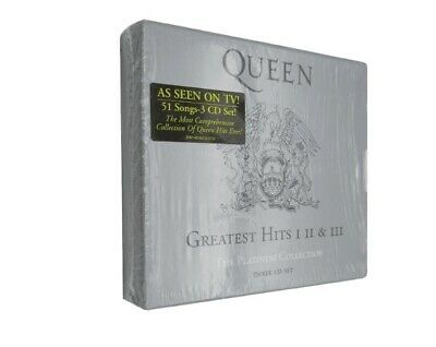 Queen - Platinum Collection: Greatest Hits 1-3 New Cd 2019 Free Shopping New