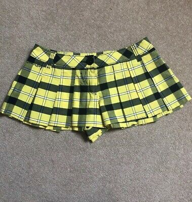 Miss Sixty Hot Pants Shorts Skort Sz 26 Uk 8