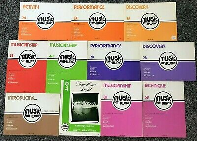 "Lot of 11 ""Music Pathways"" Piano Study Books, Incl. Teachers Guide, Carl Fischer"