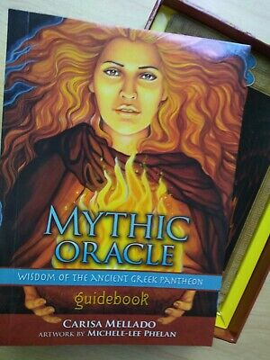 Mythic Oracle : Wisdom of the Ancient Greek Pantheon, psychic cards Zeus