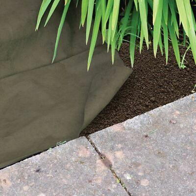 Outdoor Weed Guard Control Fabric 25m x 1m weed guard 50gsm