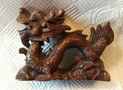 Beautiful Vintage / Antique Hand Carved Chinese Dragon