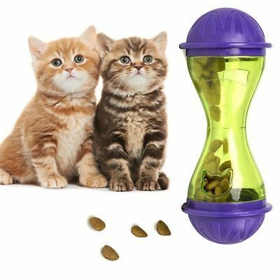 Food Cat Toy Pet Treat Ball Dispenser Feeder Leakage Food