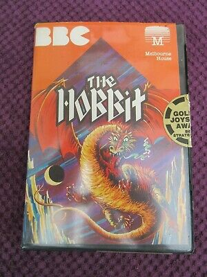 The Hobbit - Melbourne House Software - Disk  - Rare - BBC Micro Computer game