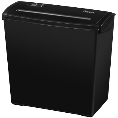 NEW Hama Home S7 Paper Shredder SC 510L 00050172 up to 7 sheets 10L