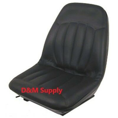 Seat with Tracks to fit Bobcat skid steer S160 S175 S185 S220 S250