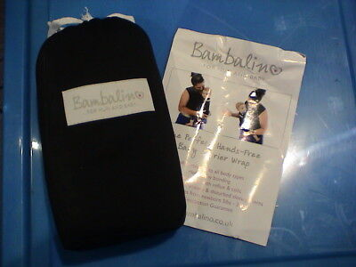 £12 Each Bambalino Baby Sling X1 Blue 1x Grey Never Used Or Opened