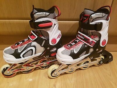 Senhai classic girls *** adjustable inline rollers size 33 to 36 Abec 5