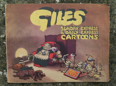 Giles Cartoon Annual, Sixth (6th) Series, Sept 1951 - Oct 1952.
