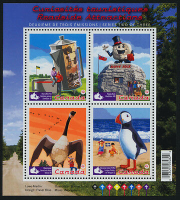Canada 2397 MNH Roadside Attractions, Birds, Art