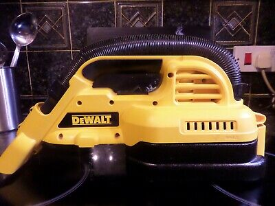DeWalt DC515 Cordless 18v Wet and Dry Vacuum Hoover With Filter (Bare Unit Only)