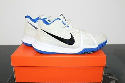 3feca1dbb21d NIKE KYRIE 3 Duke Brotherhood Mens 12.5 Basketball Shoes Blue Black ...