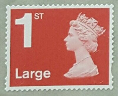 100 x 1ST CLASS LARGE STAMPS  UNFRANKED OFF PAPER WITH GUM (EASY PEEL) F/ V £106