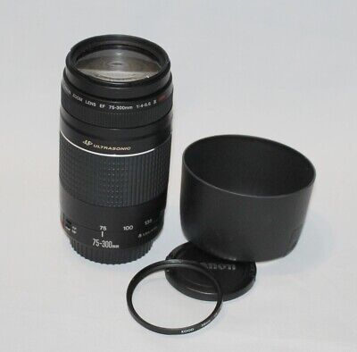 Canon EF 75-300mm f/4-5.6 III USM Zoom Lens Canon Digital fit