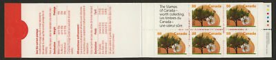 Canada 1373a Booklet BK168b MNH Westcot Apricot Tree, Fruit