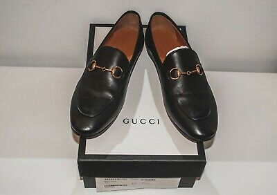 461ce265802 Gucci Original Loafers Mocassini Flats Leather Shoes