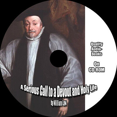 A Serious Call to a Devout and Holy Life, William Law, MP3 AudioBook 1 CD