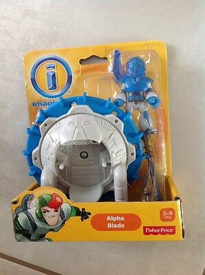 Fisher-Price Imaginext Alpha Exosuit Fisher Price BFR97