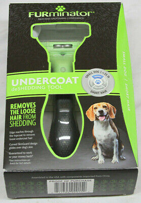 Furminator Undercoat Deshedding Tool Small Dog To 25lb Short Hair - New!!! (CR)