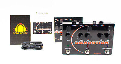Pigtronix Disnortion Analog Octave / Fuzz / Overdrive Pedal