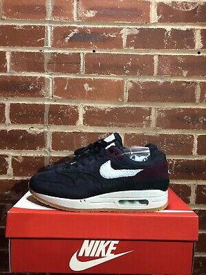 new style 485b7 abfc7 Nike Air Max 1 Premium Crepe Soles Obsidian Uk7 Us8 Eur41 Cd7861 400  Deadstock