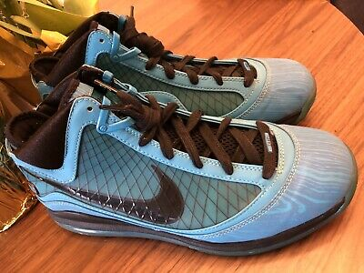 the latest 72a39 7140d Nike Lebron 7 VII All Star Chlorine Blue Sneakers Men s Size 10 VNDS 2010