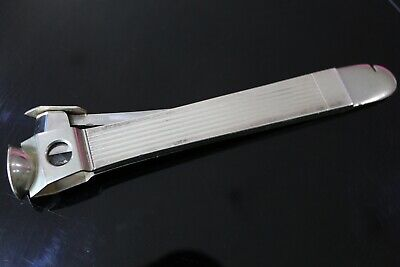 Vintage 1950's ART DECO Modernist AXEL HOLM Sterling Silver Cigar Cutter