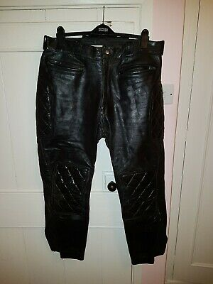 Dainese Mens Leather Motorcycle Trousers - Size 60 Euro