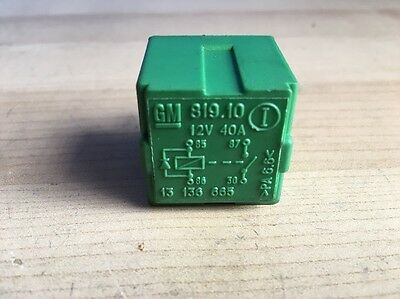 Vauxhall/Opel Green 4 Pin Multi Purpose Relay-  13136665