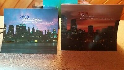 2009-P&D United States Mint Uncirculated Coin Set
