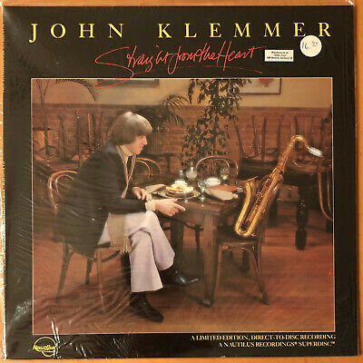 JOHN KLEMMER ‎Straight From The Heart  NAUTILUS LIMITED ED DIRECT TO DISC SEALED