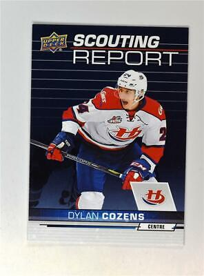 2018-19 18-19 UD Upper Deck CHL Scouting Report #SR-18 Dylan Cozens