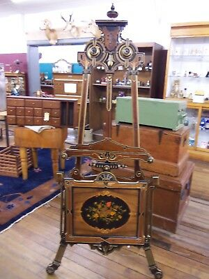 Antique Art Display Easel American Renaissance 1860-1890