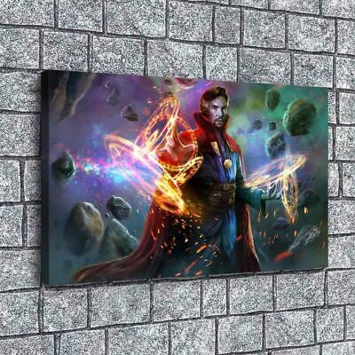"""12""""x20""""Doctor Strange HD Canvas prints Painting Home decor Room Picture Wall art"""