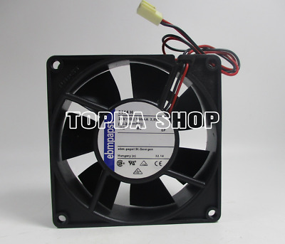 ebmpapst TYP 3414H Inverter cooling fan DC24V 2.4W 160MA 90×90×25mm 2pin