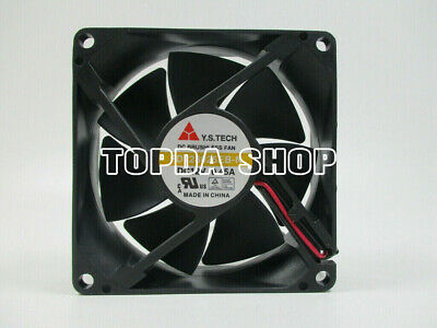 1 PCS Y.S.TECH Fan FD248025EB-N DC 24V 0.23A 8CM 8025 2 pin 80*80*25mm