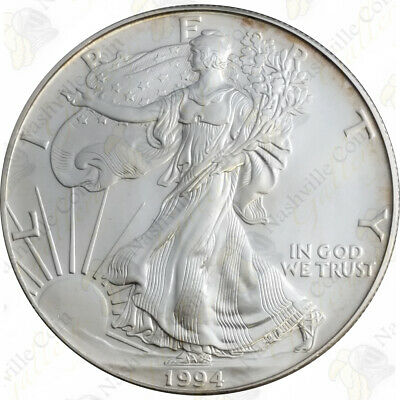 1994 1 oz American Silver Eagle - Brilliant Uncirculated - SKU #1388