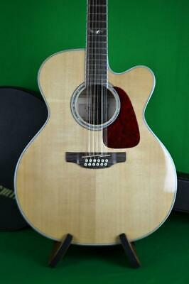 TAKAMINE GJ72CE-12 ACOUSTIC ELECTRIC 12 STRING W/CASE, Int'l Buyers Welcome