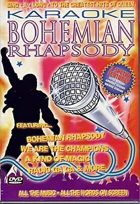 Karaoke Bohemian Rhapsody - The Hits Of Queen [2002] [DVD][Region 2]