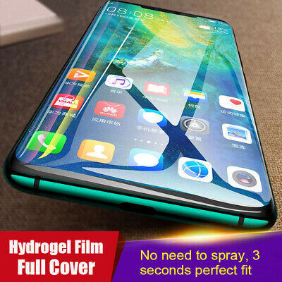 3D Full Cover Soft Hydrogel Protective Film For Huawei P30 /P30 Pro / P30 lite