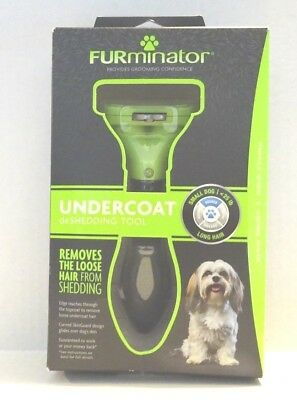 FURMINATOR DESHEDDING TOOL FOR SMALL DOGS LONG HAIR (< 20 Lbs) **NEW RELEASE**