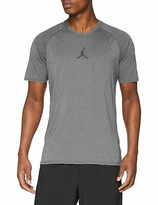 66687bc7 Jordan Men's 23 Alpha Dry Short Sleeve Carbon Heather/Black Shirts  889713-091